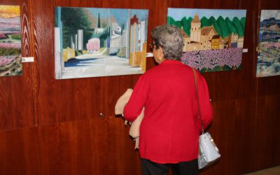 La floración en Cieza, vista por pintores de fuera