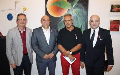 """Pilar de la Horadada inaugura la exposición """"La Floración nos une"""""""