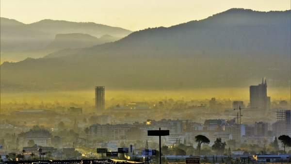 contaminación aire murcia