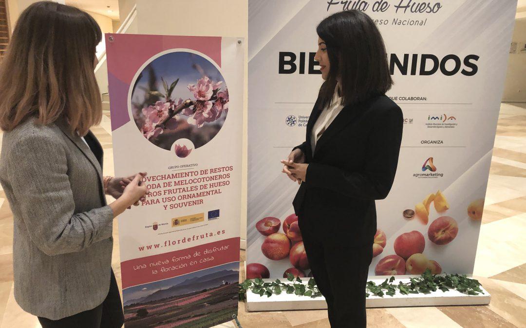 El proyecto Flor de Fruta, en el III Congreso Nacional de Fruta de Hueso