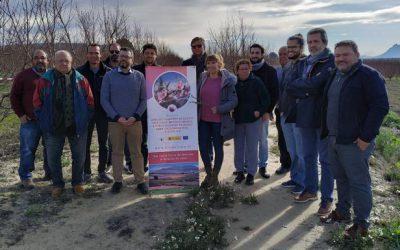 Se realiza el curso de formación en campo dentro del proyecto Flor de frutas.